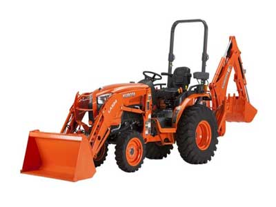Rent Backhoe, Compact