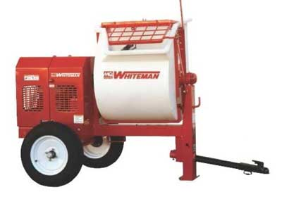 Rent Mixers, Mortar & Concrete