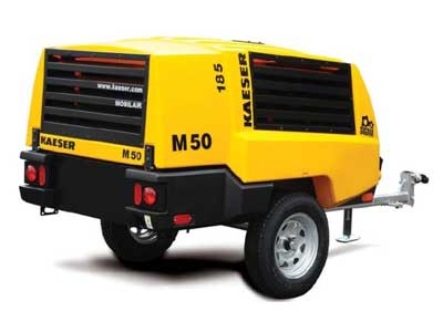 Rent Air Compressor, Towable