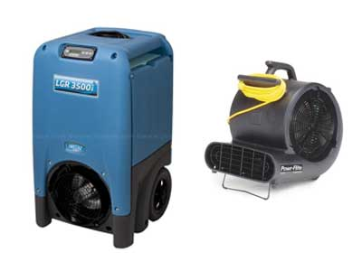 Dehumidifier rentals in Southwestern Indiana